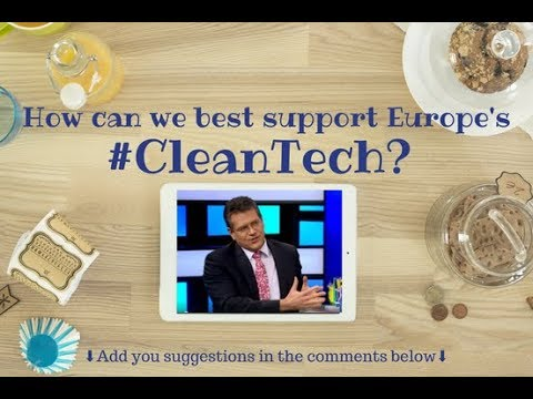 Live Chat: How Can We Best Support Europe's Clean Tech