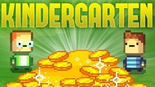 Kindergarten - Monty's Quest - Earning 24 Dollars in One Day! - Kindergarten Gameplay Highlights
