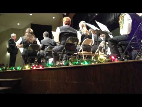 R Nelson Snider High School Concert Band - Christmas Concert - 12.17.2012 video 3 of 3