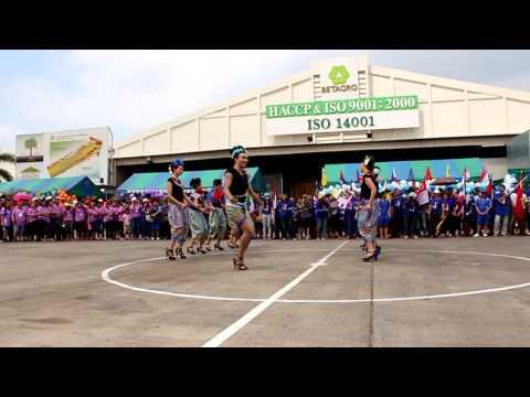 งานกีฬาสีบริษัทอาหารเบทเทอร์ จำกัด เชียร์หลีดเดอร์สีน้ำเงิน 1 Dec 2013
