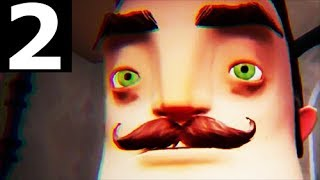 Hello Neighbor Part 2 - Act 2 - Walkthrough Gameplay (No Commentary) (Stealth Horror Game 2017)