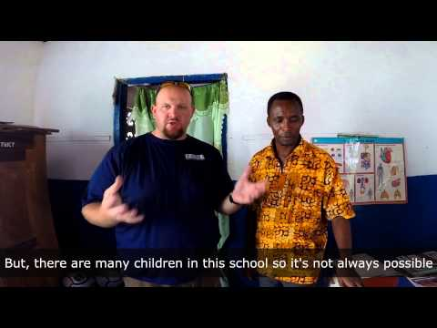 School Feeding Program in Ghana, Africa