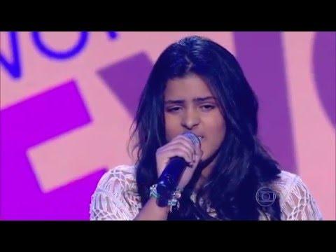 Mariana Rocha canta 'Man in the mirror' no The Voice Kids - Audições|1ª Temporada