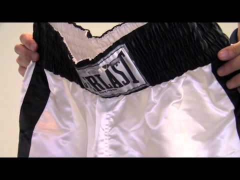 Muhammad Ali Autographed Boxing Trunks – Steiner Holo