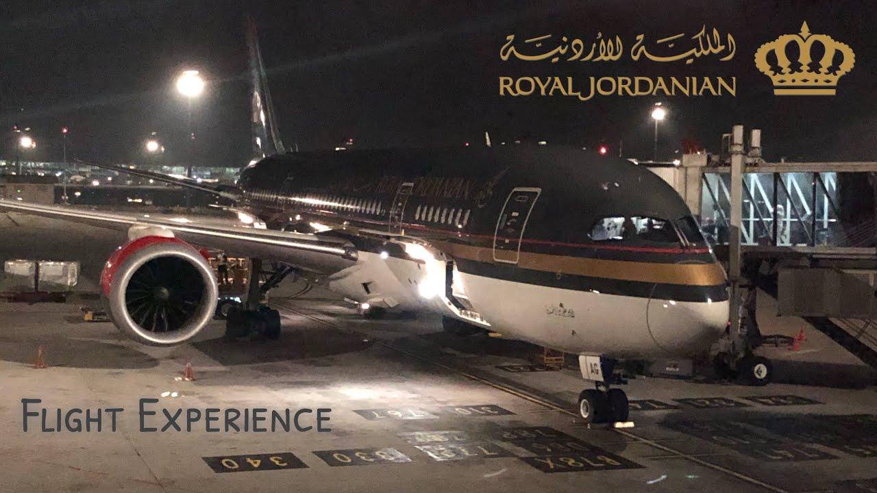 royal jordanian flight schedule