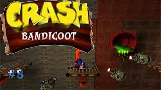 Cuidado con los vapores y tubos calientes/Crash Bandicoot #8