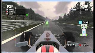 Belgie SPA Codemasters F1 2011 PC online gameplay
