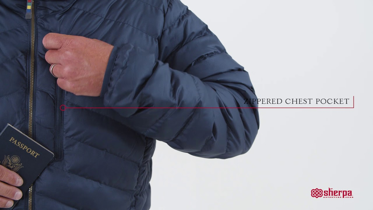 Sherpa Adventure Gear Men's Annapurna Hooded Jacket