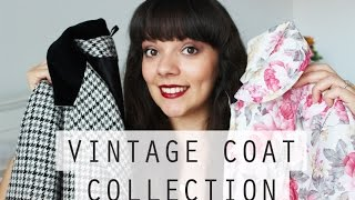 My Vintage Coat Collection Silent Sweetheart
