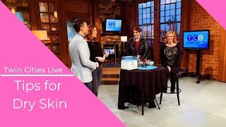 Hillary Kline l Twin Cities Live Appearance l Products for Dry Skin