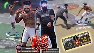 OK.. NOW IM MAD! MEAN ANKLE BREAKER on POLICE OFFICER! NBA 2k18 Playground