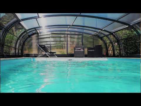 """Les abris de piscine ou de spa """"Made in France"""" plébiscités par les acheteurs !"""