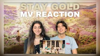 BTS (방탄소년단) 'Stay Gold' Official MV REACTION