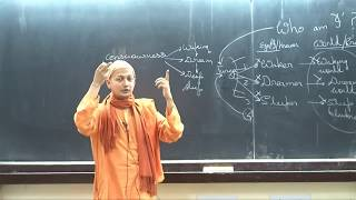 "Swami Sarvapriyananda at IITK - ""Who Am I?"" according to Mandukya Upanishad-Part 1"