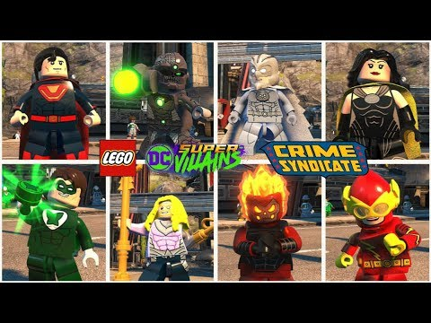 All Crime Syndicate Members in LEGO DC Super Villains ...