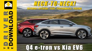 Q4 e-tron vs Kia EV6: A Neck-to-Neck Race with a Photo Finish!