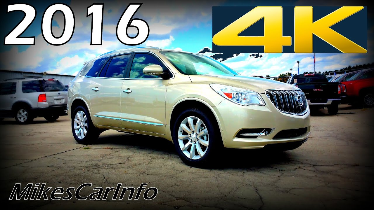 2016 Buick Enclave Premium Ultimate In Depth Look In 4k