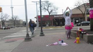 Let It Go Street Performance by Lori-Lu