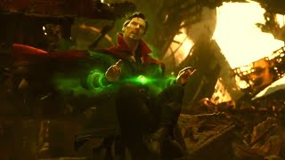 Doctor Strange Looks into the Future| Avengers Infinity War