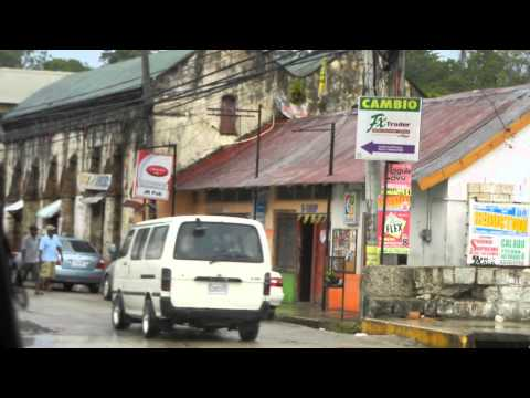 The drive through Lucea, Hanover, Jamaica