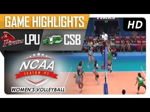 NCAA 93 WV: CSB vs. LPU   Game Highlights   January 11, 2018