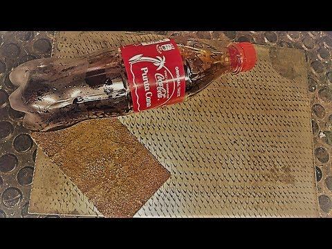 Tutorial Come Rimuovere La Ruggine Con Della Coca Cola Youtube