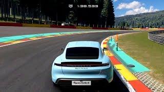 Gran Turismo Sport - Porsche Taycan Turbo S 2019 - Test Drive Gameplay (PS4 HD) [1080p60FPS]
