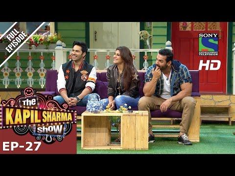 The Kapil Sharma Show - दी कपिल शर्मा शो–Ep-27-Team Dishoom in Kapil's Mohalla–23rd July 2016