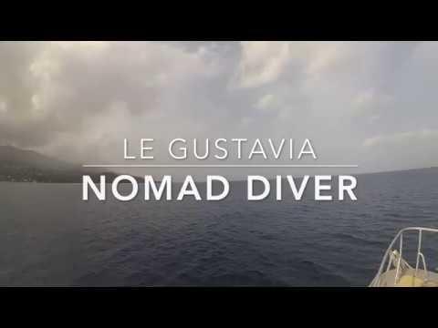 Comment plonger sur des épaves en Guadeloupe ?Nomad Diver plonge sur le Gustavia Août 2019