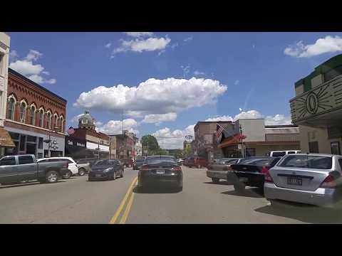 Driving by New Philadelphia,Ohio
