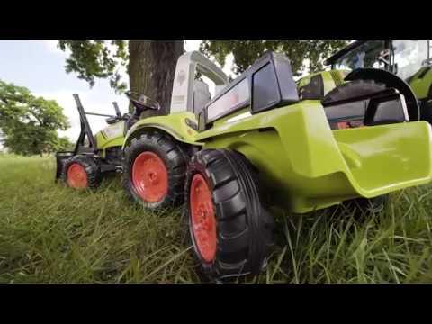 Трактор-экскаватор педальный FALK 1040 & 1040AM & 1040AB