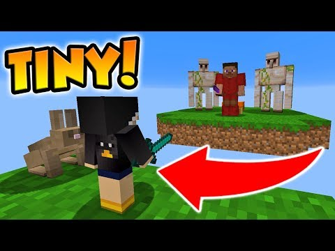 HYPIXEL BANNED TINY PLAYERS MOD, BUT THAT WON'T STOP ME! (Minecraft Bed Wars)