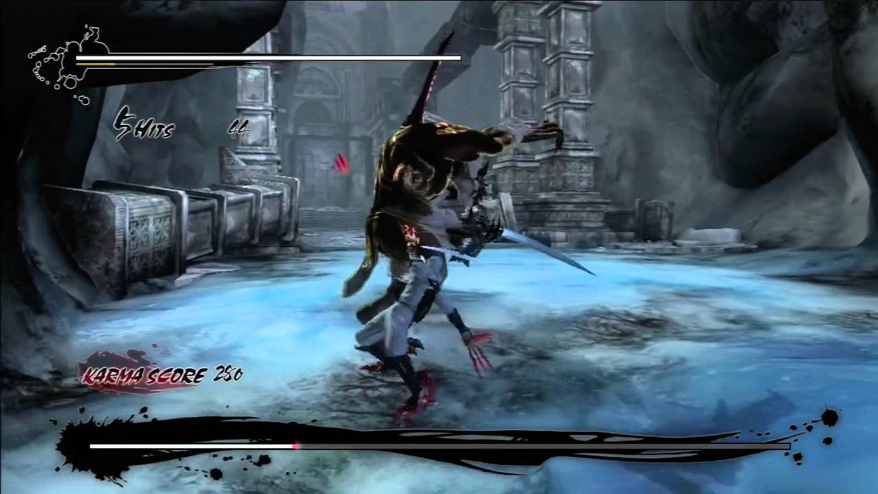 Ninja Gaiden 3 Razor S Edge Claws Vs Volf No Damage Youtube