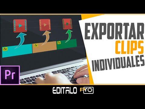 ✨TRUCO para EXPORTAR clips individuales en Premiere Pro
