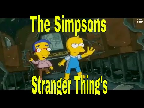 Bart Simpsons 666 S 31 E 04 Horror XXX Heavens Demon Met Stranger Things