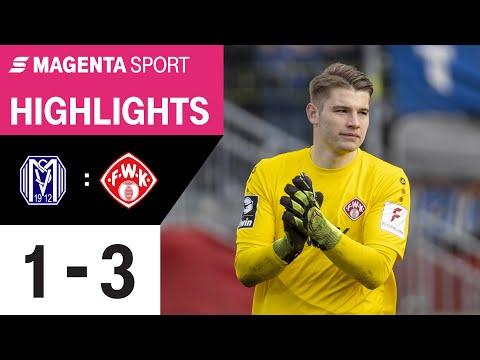 SV Meppen - FC Würzburger Kickers   28. Spieltag, 2019/2020   MAGENTA SPORT