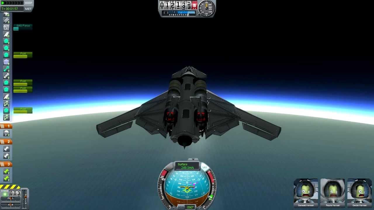 Kerbal Space Program SSTO Tutorial - YouTube