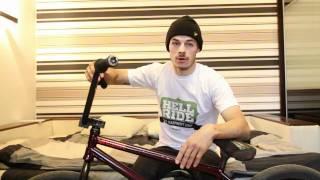 Ники Стайлиш: как правильно делать трюк barspin (bmx видео)