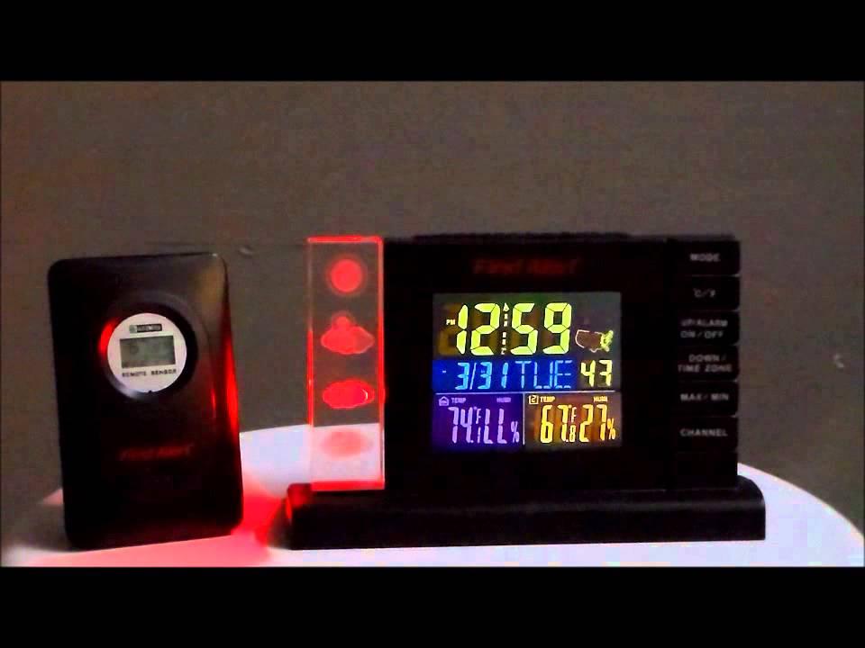 First Alert Sfa2650 Atomic Radio Controlled Weather