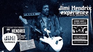 The Jimi Hendrix Experience - Red House (Dallas 1968)