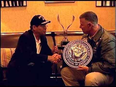 Dr. Sky Interviews Captain Bruce Lindsey Aboard the USS Carl Vinson