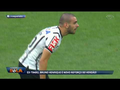 Ex-Timão, Bruno Henrique é O Novo Reforço Do Verdão