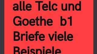 #Brief #schreiben #b1 #Beispiel