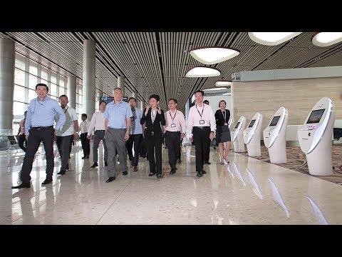 Visit to Changi Airport Terminal 4