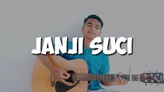 Janji Suci - Yovie & Nuno (Solid Widio Candra Cover + Lirik)