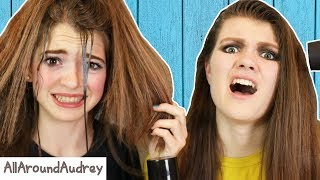 RECREATING 80S HAIRSTYLES! WE DID WHAT TO OUR HAIR?! / AllAroundAudrey