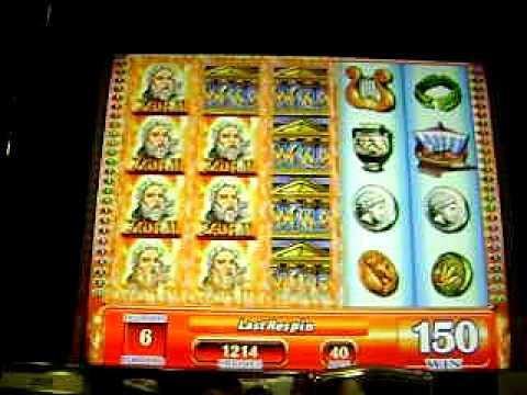 Zeus Ii Slot Machine Casino Youtube