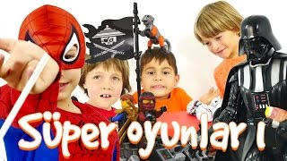 Spiderman, Lego ve Star Wars oyunları hepsi bir arada