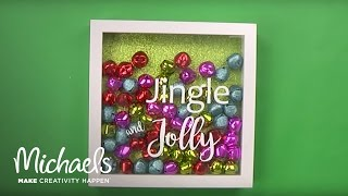 Holiday Decor Shadow Box | Michaels