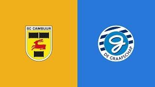HIGHLIGHTS | Henk de Jong-derby bij SC Cambuur - De Graafschap